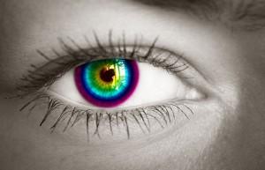 Kolorowe soczewki